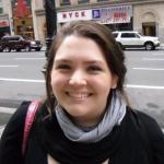 Art editor Laura