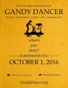 Gandy Dancer Call for Submissions