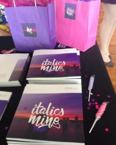 Gandy Dancer's Review of SUNY Purchase's literary journal, Italics Mine